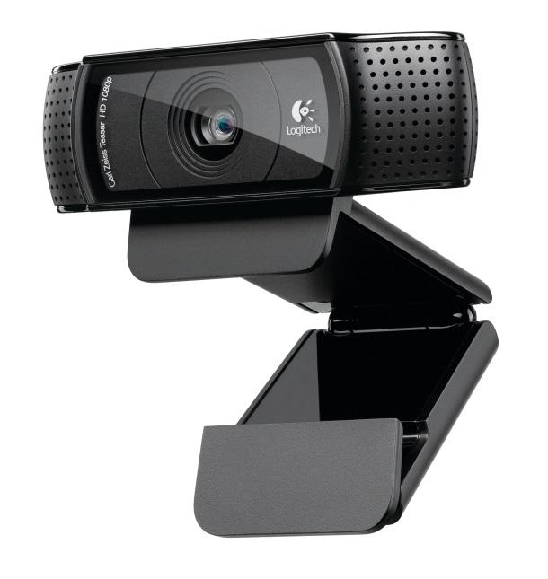 LOGITECH C920 HD Pro Webcam FHD 1080p/H.264/Autofocus/15MP IR Infrared Night Vision LS-> VILT-C922