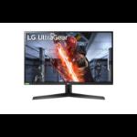"""LG 27GN800-B LED display 68.6 cm (27"""") 2560 x 1440 pixels Quad HD Black, Red"""