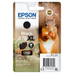 Epson Squirrel Singlepack Black 378XL Claria Photo HD Ink