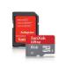 Sandisk 8GB microSDHC UHS-I memory card Class 10
