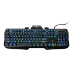 iogear Kaliber Gaming HVER keyboard USB Black