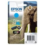 Epson C13T24324012 (24XL) Ink cartridge cyan, 500 pages, 9ml