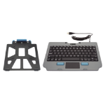 Gamber-Johnson 7170-0817-00 mobile device keyboard Black, Gray USB QWERTY English