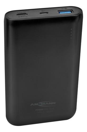 Ansmann 1700-0095 Lithium Polymer (LiPo) 10000mAh Black power bank