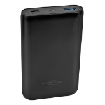Ansmann 1700-0095 power bank Black Lithium Polymer (LiPo) 10000 mAh