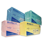 WypAll X50 CLEANING CLOTHS 50SHTS BLUE