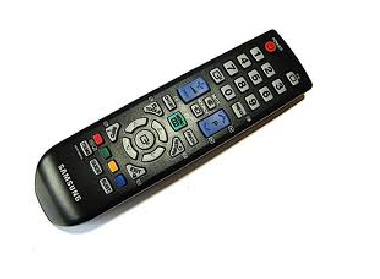 Samsung BN59-00865A IR Wireless press buttons Black remote control