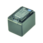 2-Power Camcorder Battery 3.6V 2400mAh rechargeable battery