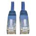 Tripp Lite Cat. 6 RJ45 2m 2.13m Cat6 U/UTP (UTP) Blue networking cable