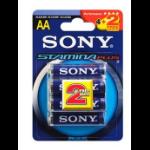 Sony 4+2 AA Stamina Plus
