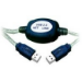 Microconnect USB 2.0 A-A 3m M-M 3m USB A USB A White USB cable