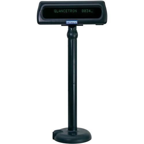 Glancetron DISP8034US 20 digits USB 2.0 Black