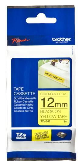 Brother TZeS631 cinta para impresora de etiquetas TZ