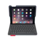 Logitech Type+ Bluetooth AZERTY French Black mobile device keyboard