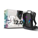 Zotac VR GO 2.0 2.4 GHz i7-8700T Black
