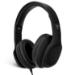 V7 Auriculares circumaurales con micrófono – negros