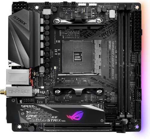 ASUS ROG STRIX X470-I GAMING motherboard Socket AM4 Mini ITX AMD X470