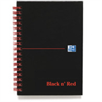 Black n' Red Bk A6 W/Bnd Ruled 100080448
