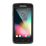 """Honeywell Android 7.1 with GMS, WWAN (3G), 802.11 a/b/g/n, 1D/2D Imager (HI2D), 1.2 GHz Quad-core, 2GB/16GBMemory, 5MP Camera, Bluetooth 4.0, NFC, Battery 4,000 mAh, USB Charger, Black, Europe 5"""" 1280 x 720pixels Touchscreen 270g handheld mobile computer"""