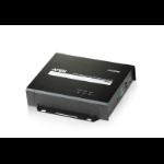 Aten VE805R AV extender AV receiver Black