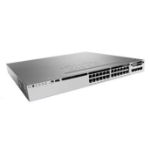 Cisco 3850-24S-S Managed None Zwart, Grijs 1U
