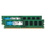 Crucial CT2K25664BD160BJ memory module 4 GB DDR3 1600 MHz