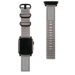 Urban Armor Gear 19149C114030 smartwatch accessory Band Grey Nylon,Stainless steel