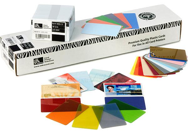 Zebra Premier Colour PVC 500pc(s) business card