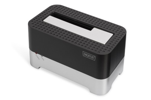 Digitus DA-71541 storage drive docking station USB 3.0 (3.1 Gen 1) Type-B Black,Silver