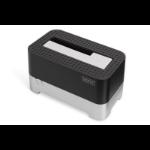 Digitus DA-71541 storage drive docking station USB 3.0 (3.1 Gen 1) Type-B Black,Silver