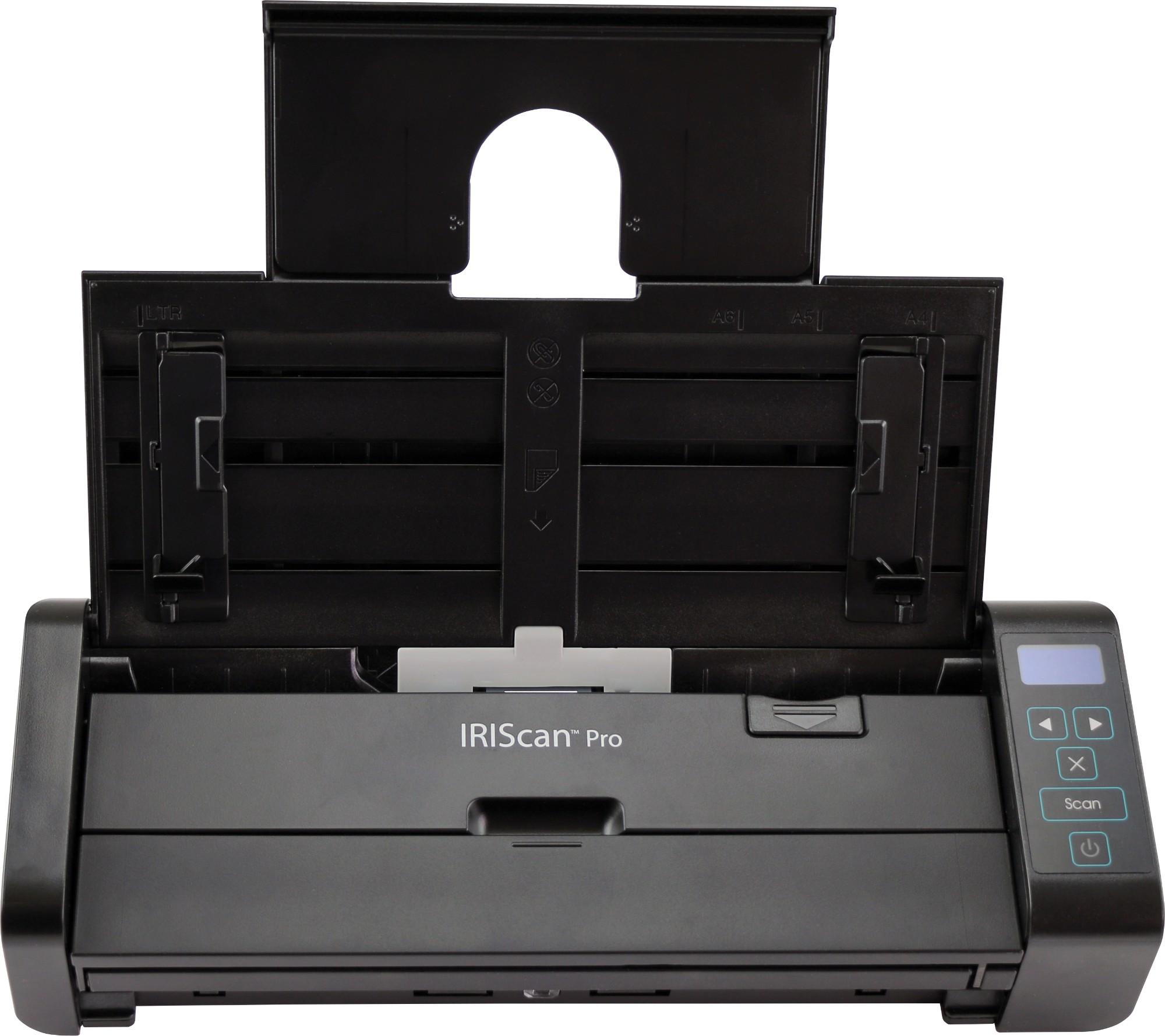 I.R.I.S. IRIScan Pro 5 600 x 600 DPI Escáner con alimentador automático de documentos (ADF) Negro A4