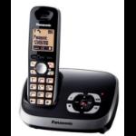 Panasonic KX-TG6521 DECT telephone Black Caller ID