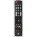 One For All URC 1911 remote control IR Wireless Black Press buttons