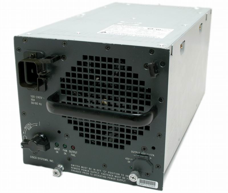 Cat6500 3000W AC Power Supply REMANUFACTURED
