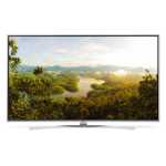 "LG 49UH770V 49"" 4K Ultra HD Smart TV Wi-Fi Black LED TV"
