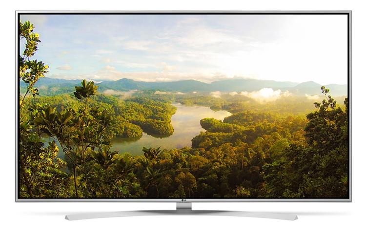 "LG 49UH770V 49"" 4K Ultra HD Smart TV Wi-Fi Black LED TV"