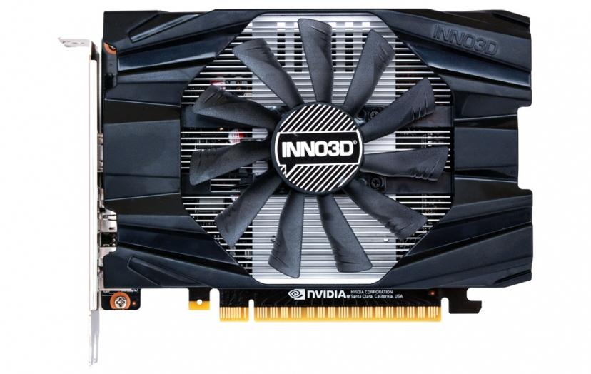 Inno3D N16501-04D5-1510VA19 graphics card GeForce GTX 1650 4 GB GDDR5