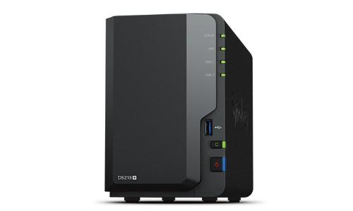Synology DiskStation DS218PL2TBSEA DS218+ 2TB IronWolf SATA III Black NAS Server