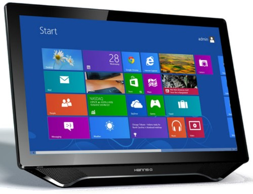 """Hannspree Hanns.G HT231HPB 23"""" 1920 x 1080pixels Table Black touch screen monitor"""