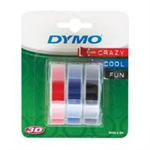 DYMO S0847750 Embossing tape, 9mmx3m