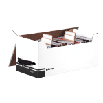 Fellowes 96503 file storage box Black,White