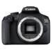 Canon EOS 2000D + EF-S 18-55mm f/3.5-5.6 III Juego de cámara SLR 24,1 MP CMOS 6000 x 4000 Pixeles Negro