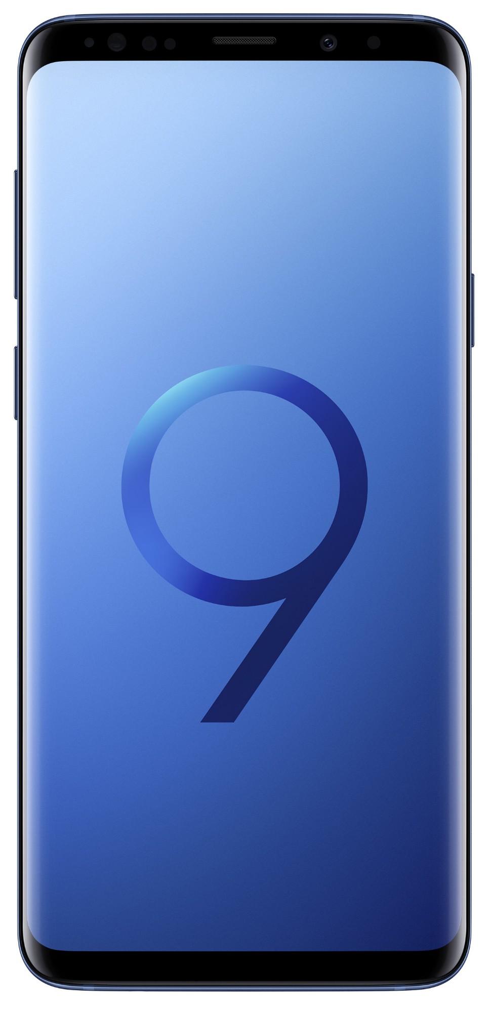 """Samsung Galaxy S9+ SM-G965F 6.2"""" Single SIM 4G 6GB 128GB 3500mAh Blue SM-G965FZBEBTU"""