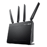 ASUS (4G-AC68U) AC1900 (600+1300) Wireless Dual Band 4G LTE Router, 4-Port, WAN Port, USB 3.0