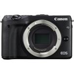 Canon EOS M3 24.2 Megapixel Mirrorless Camera Body Only - Black - 7.5