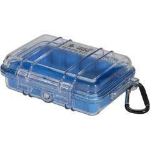 Pelican 1020 MicroCase equipment case Blue