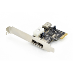 Digitus PCI Express Karte, Firewire interface cards/adapter