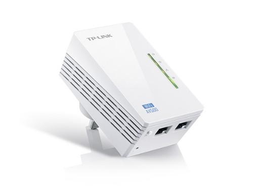 TP-LINK AV500 300 Mbit/s Ethernet LAN Wi-Fi White 1 pc(s)