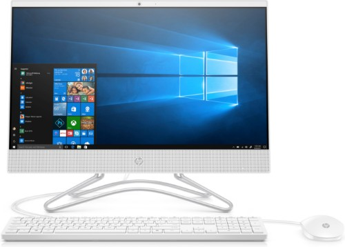 "HP 22 -c0054na 54.6 cm (21.5"") 1920 x 1080 pixels Intel® Pentium® Silver 4 GB DDR4-SDRAM 1000 GB HDD Wi-Fi 5 (802.11ac) White All-in-One PC Windows 10 Home"