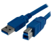 StarTech.com Cable USB 3.0 SuperSpeed de 1 metro - A Macho a B Macho